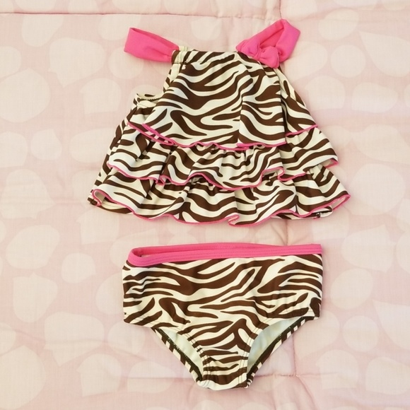 Carter's Other - EUC! 🌟 Carter's Baby Girl 2 Piece Swimsuit 12mo